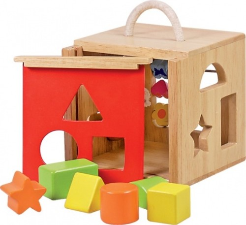 Vormenstoof - Hout (New Classic Toys)