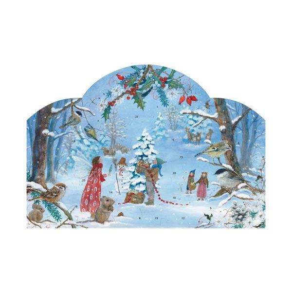 Kleiner Weihnachtskalender.Adventskalender De Kleine Elf Viert Kertmis Daniela Drescher Liever Spelen Houten Speelgoedwinkel
