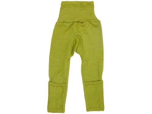 Cosilana wol zijde baby broekje groen