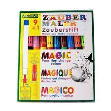 Okonorm Magic pen 9 kleuren + 1 geheimschrijver
