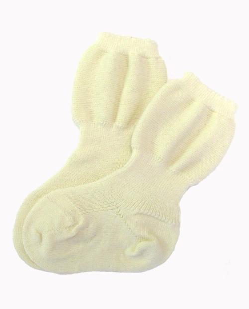 Wollen spekbeen sokken