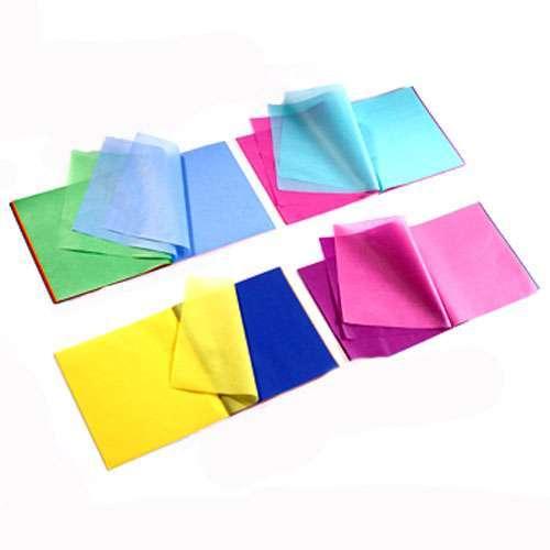zijdevloeipapier 22x22